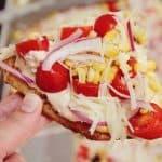 Chipotle Southwest Veggie Pizza