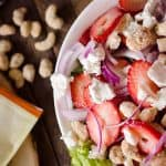 Strawberry & Coconut Cashew Salad