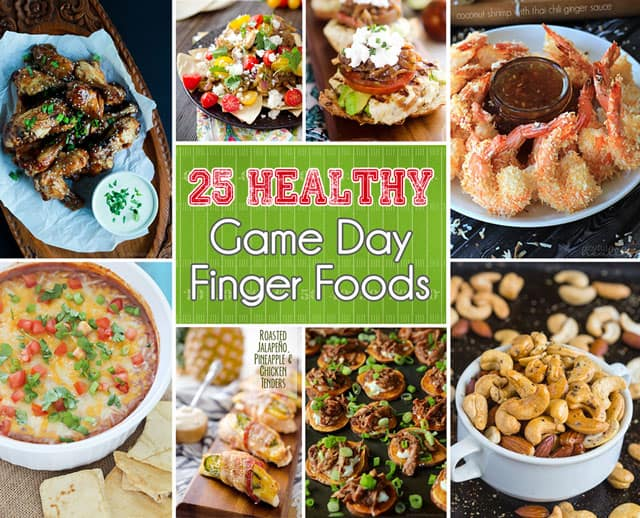 25 Healthy Game Day Finger Foods