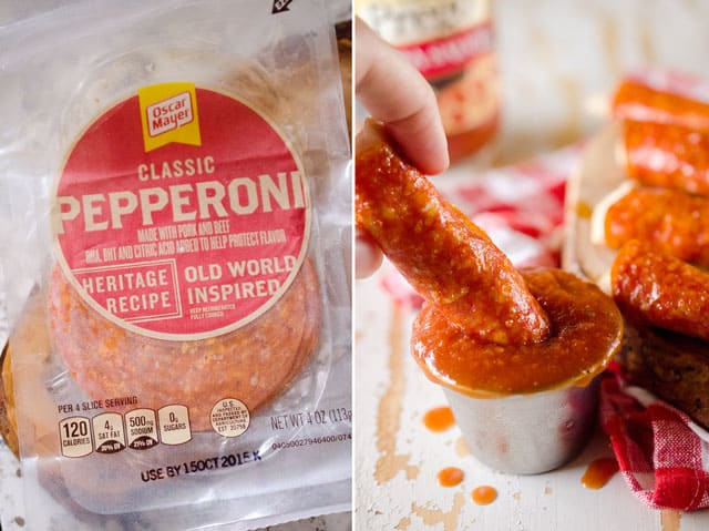 Pepperoni Chicken Fingers