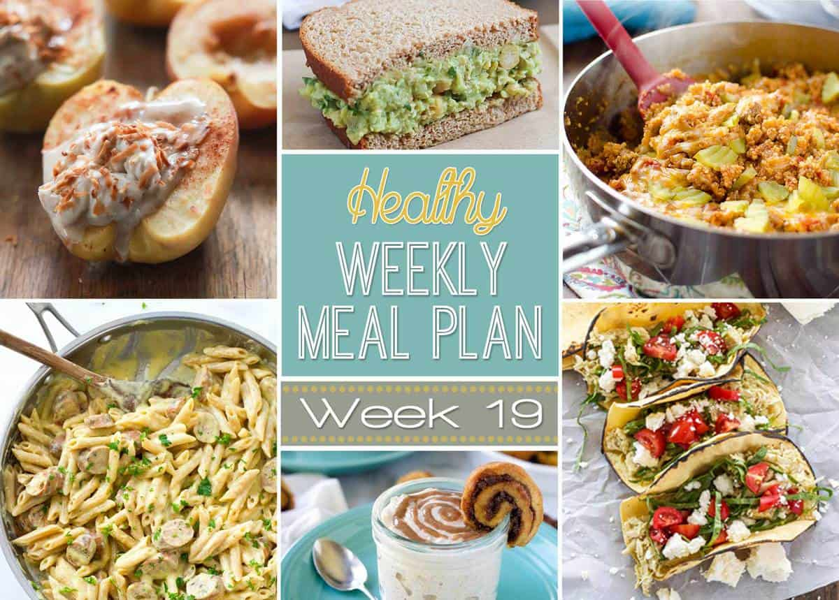Healthy Weekly Meal Plan 19 With Salt And Wit