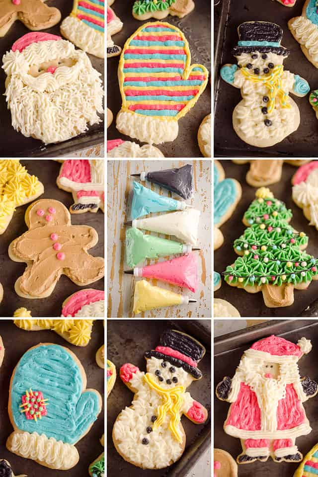 Old Fashion Sour Cream Cut Out Cookies