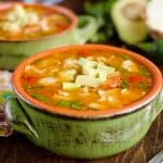 Light Taco Soup is a healthy meal full of wholesome ingredients and bold flavors!