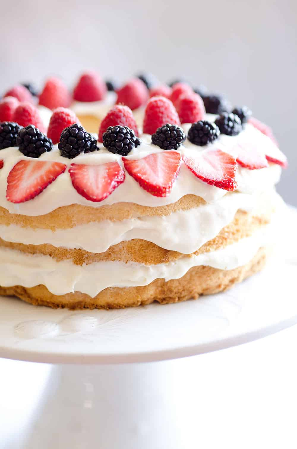 Easy Low Fat Desserts With Angel Food Cake