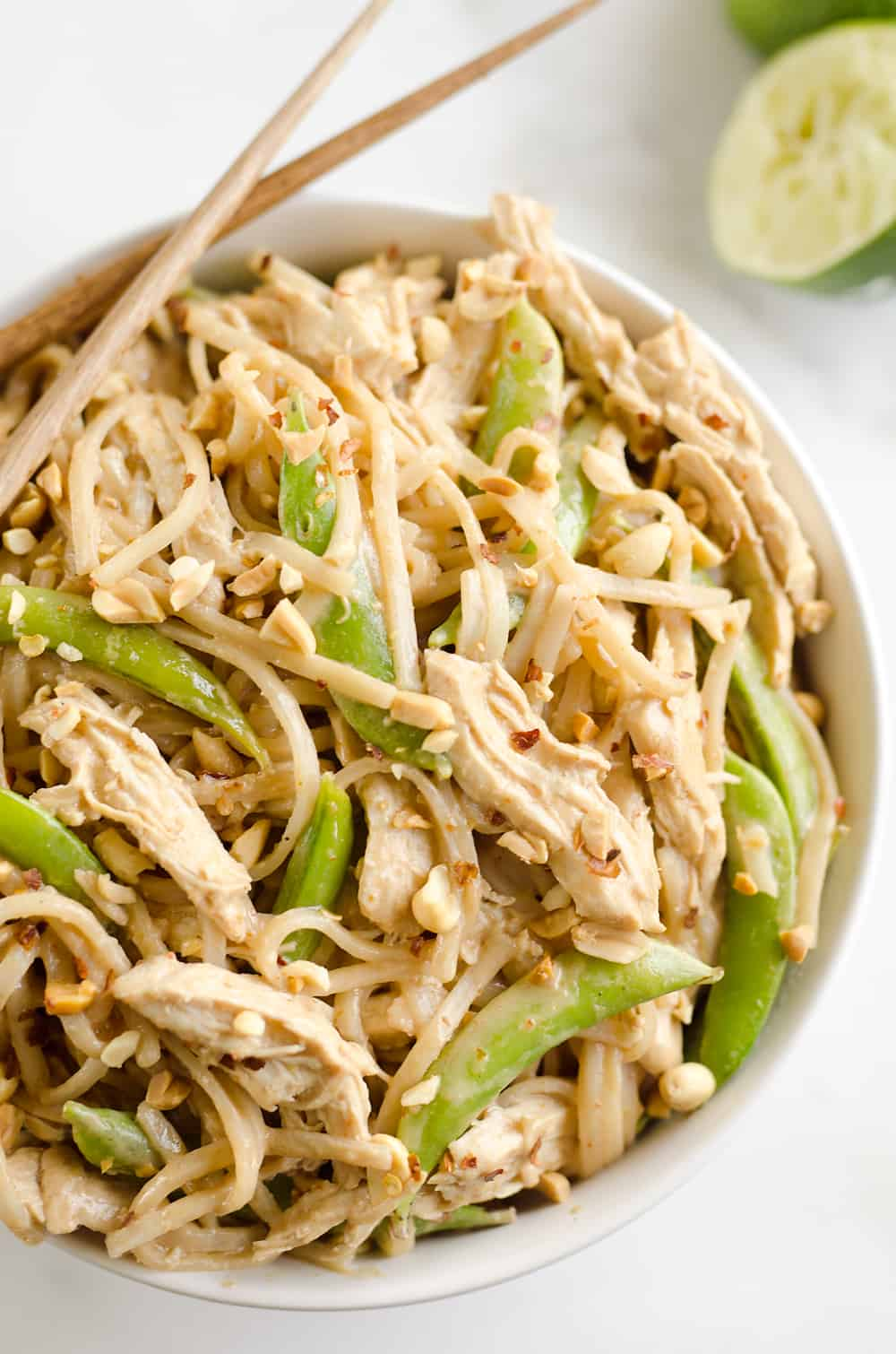 Pressure Cooker Thai Peanut Chicken Amp Noodles