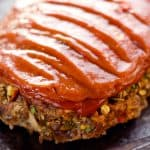 Ultimate Chorizo Meatloaf is a hearty dinner full of ground beef, chorizo, sweet corn and lots of veggies! Take your meatloaf to the next level with this spicy and flavorful recipe that is sure to be a winner.