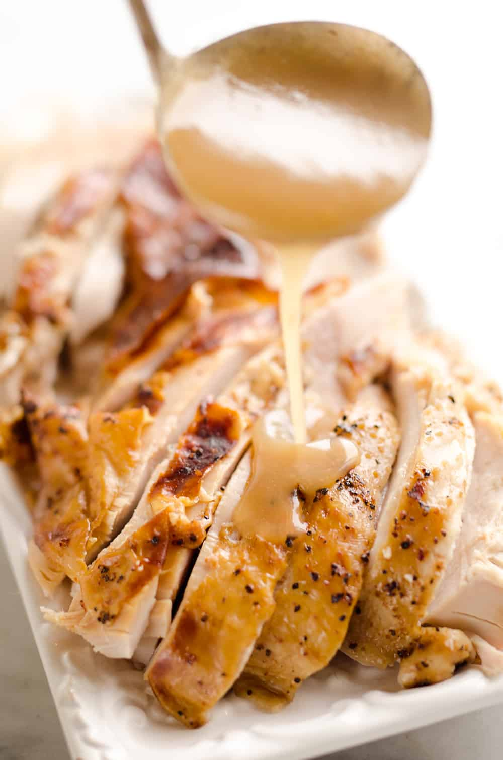 Easiest Roasted Turkey & Gravy