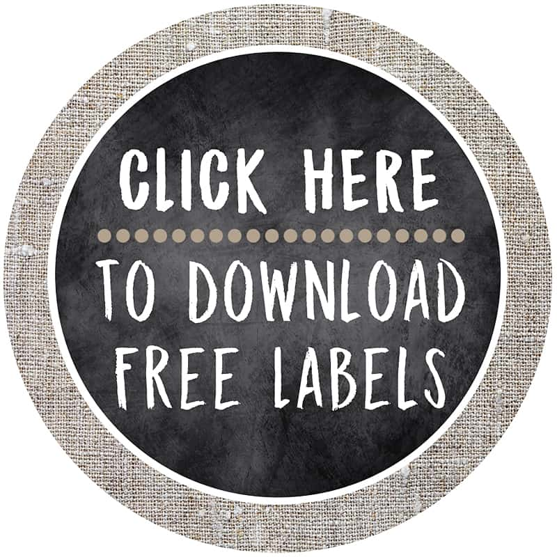 graphic about Free Printable Organizing Labels named Kitchen area Pantry Small business+ Cost-free Printable Labels