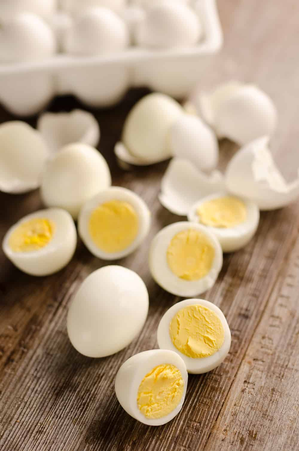 Are you wondering How to Make Perfect Hard Boiled Eggs? If so, an electric pressure cooker, better known as an Instant Pot is the trick you need to try! These easy hard boiled eggs are finished to perfection in less than 15 minutes.