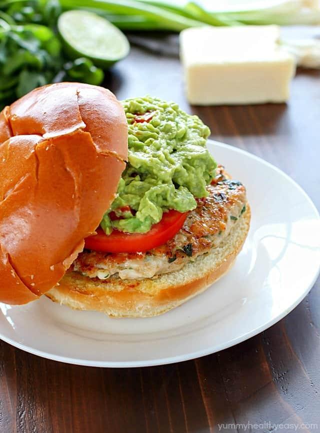 hamburger signature au guacamole - 600×811