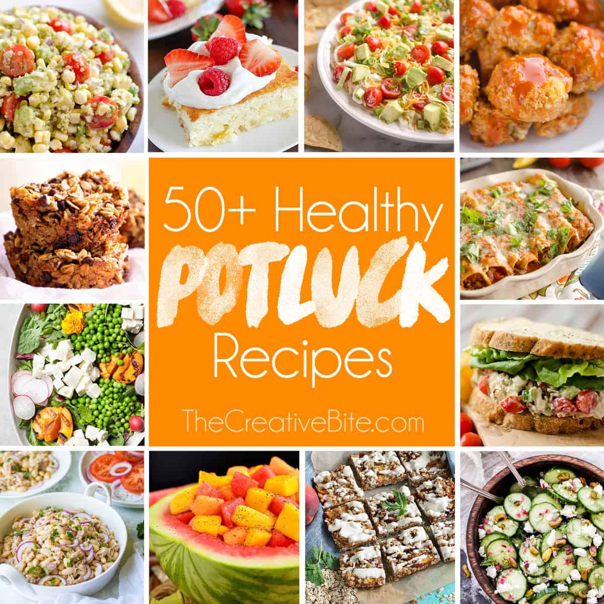 50 Light Healthy Potluck Recipes