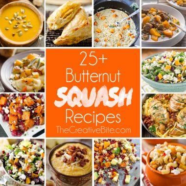 25+ Butternut Squash Recipes,