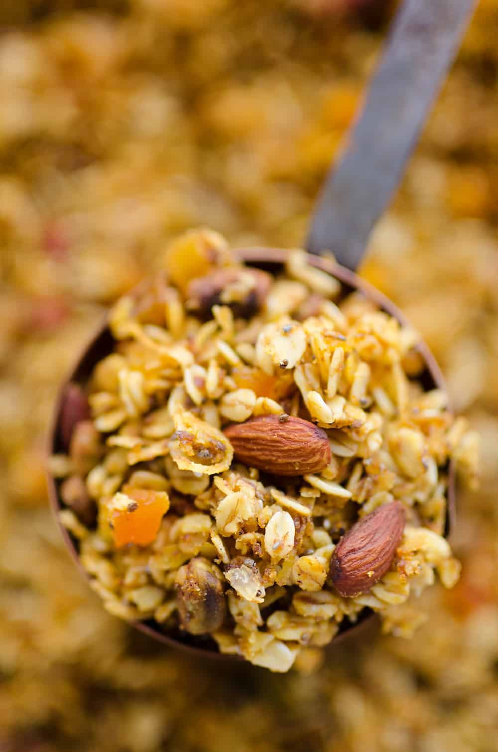 Pumpkin Coconut Granola in cup