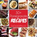 30+ Pomegranate Recipes