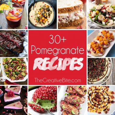 30+ Pomegranate Recipes