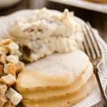 Crock Pot Turkey & Garlic Mashed Potatoes