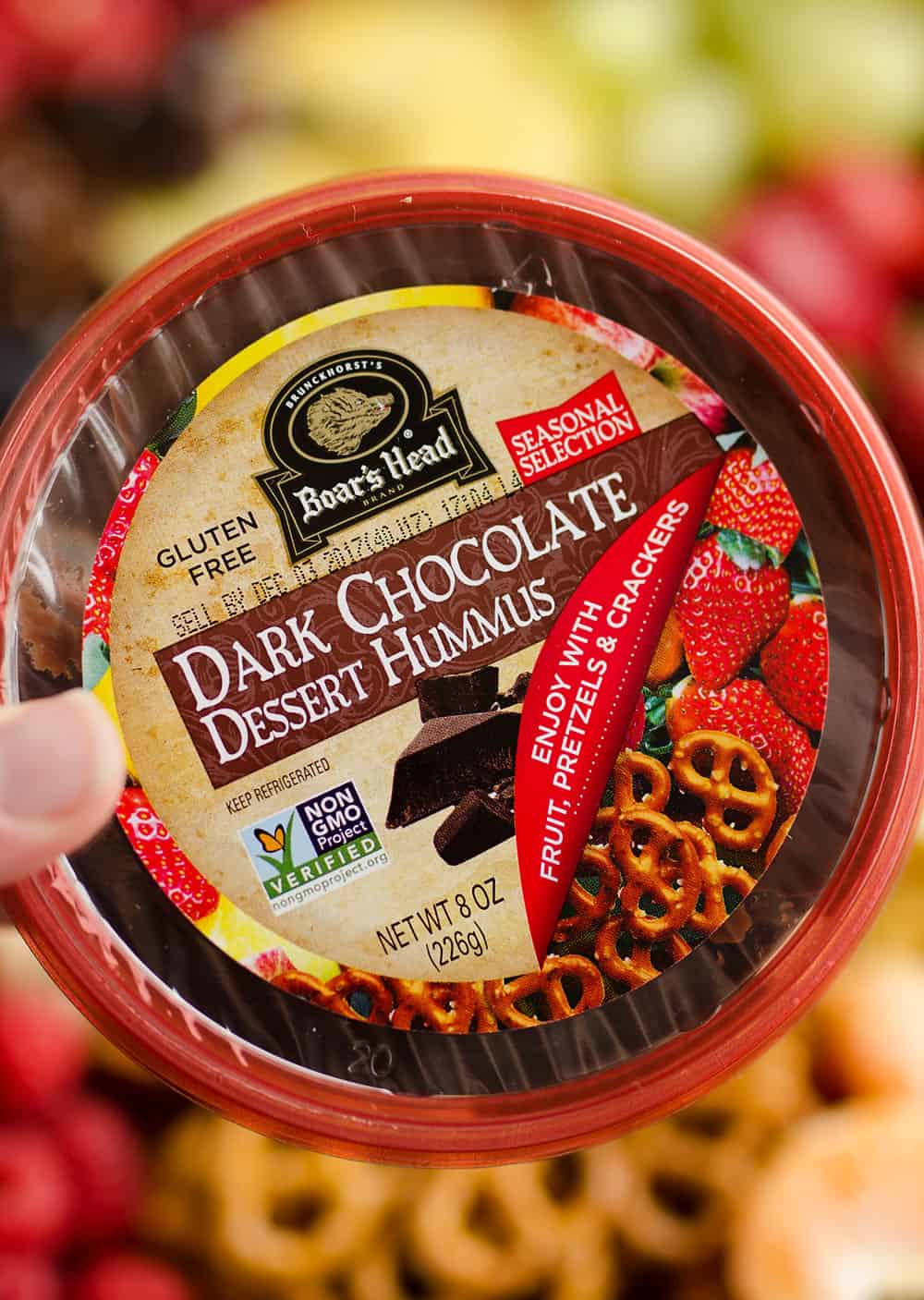 Boar's Head Dark Chocolate Hummus