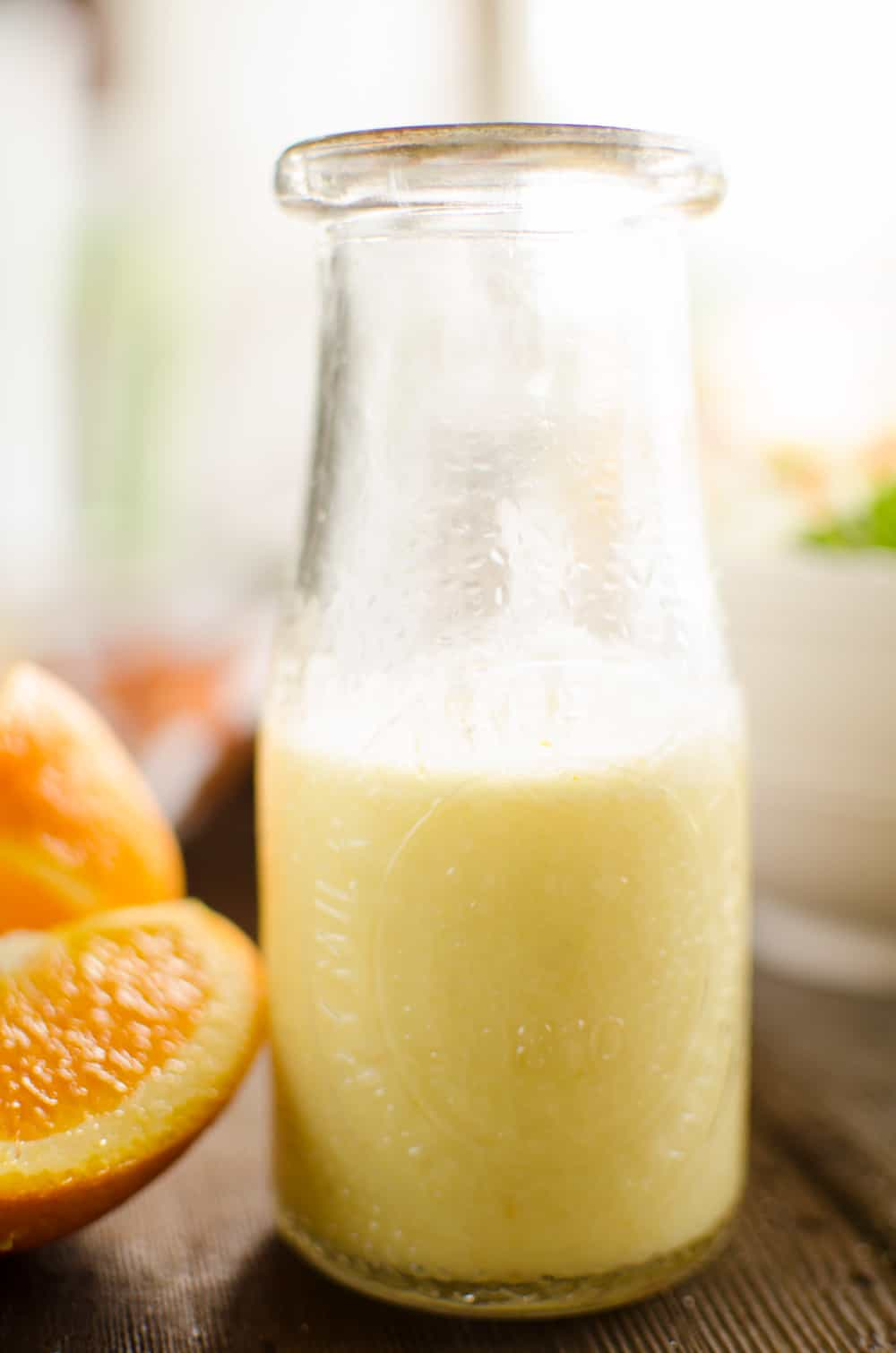 Light Orange Ginger Vinaigrette