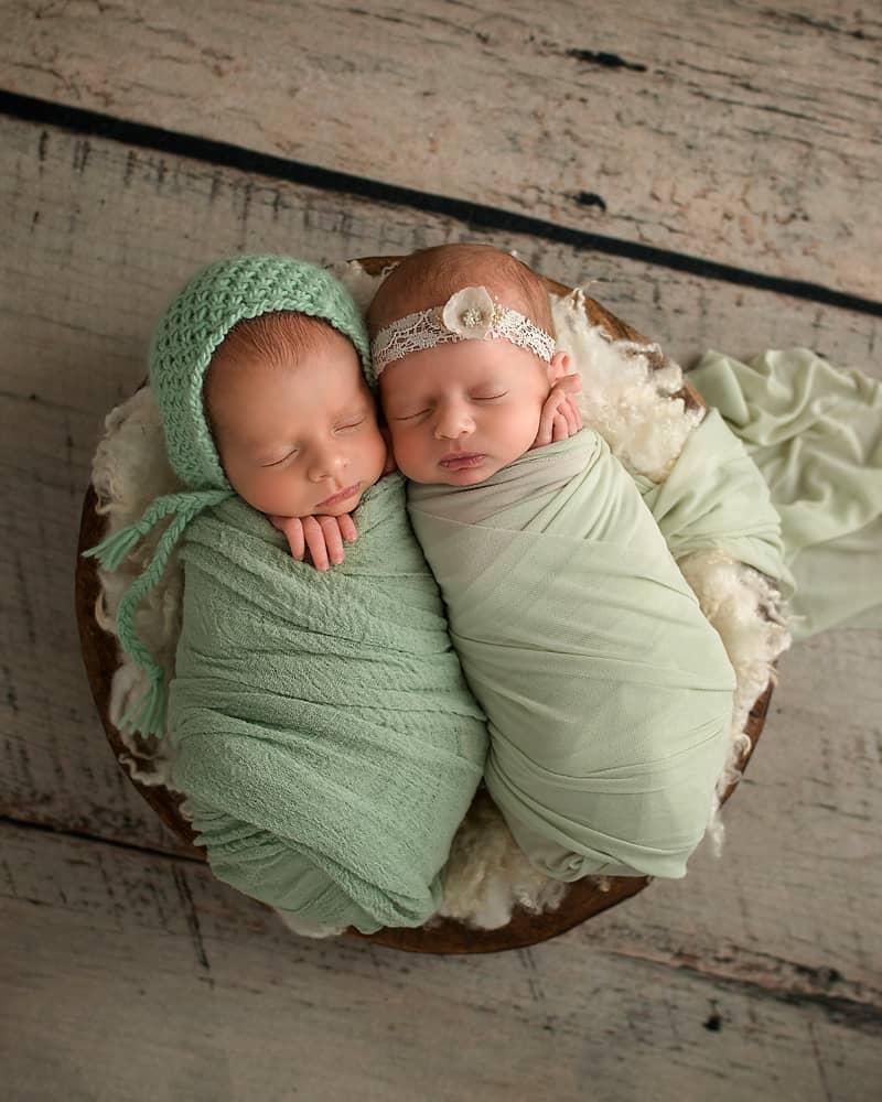 boy birl newborn baby pictures