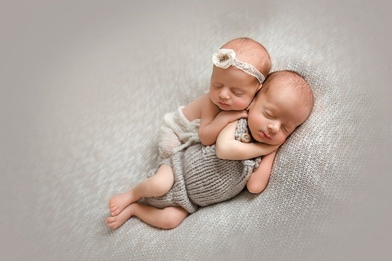 boy birl newborn baby photography