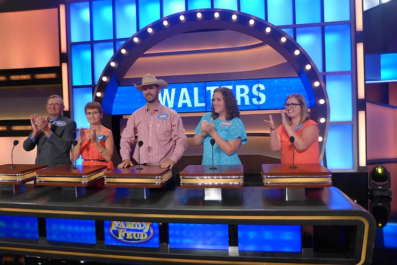 How We Got On The Family Feud Game Show