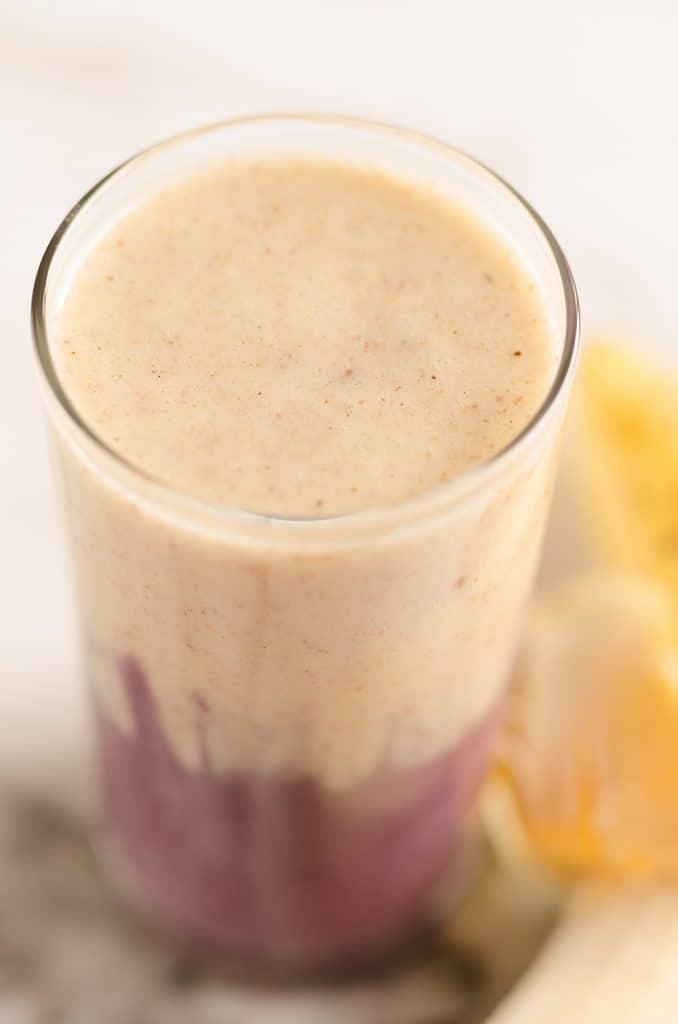Blackberry Banana Protein Smoothie