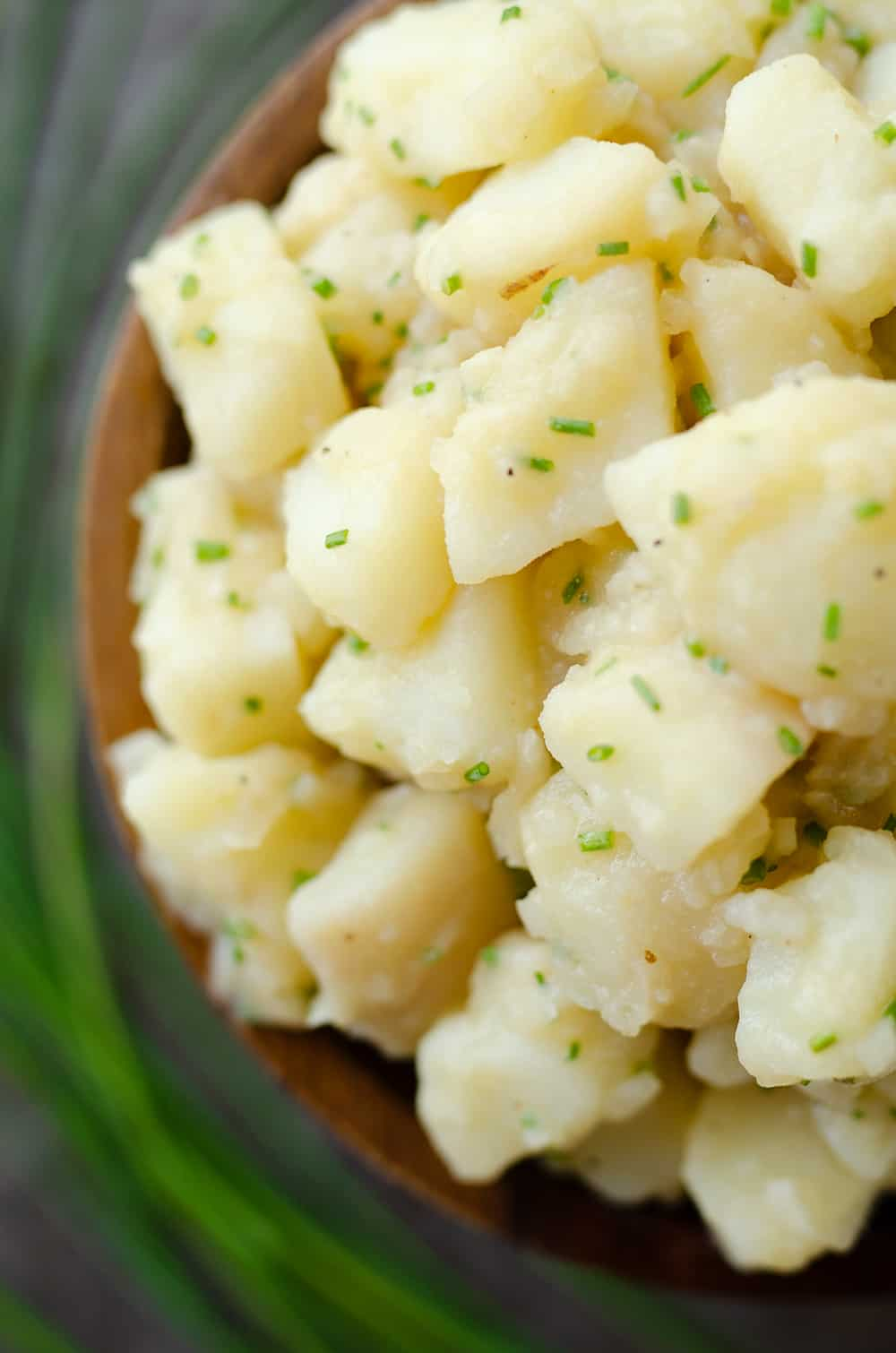 German Potato Salad serving