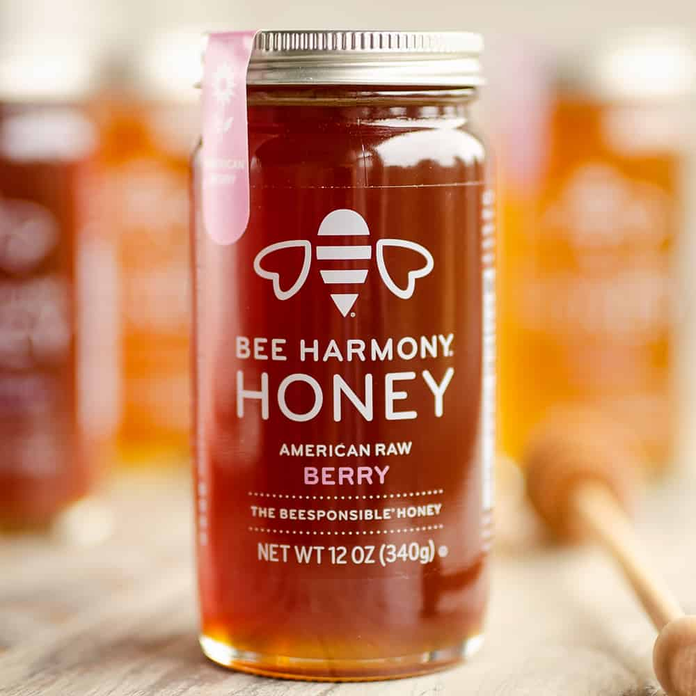 Beesponsible Berry raw honey