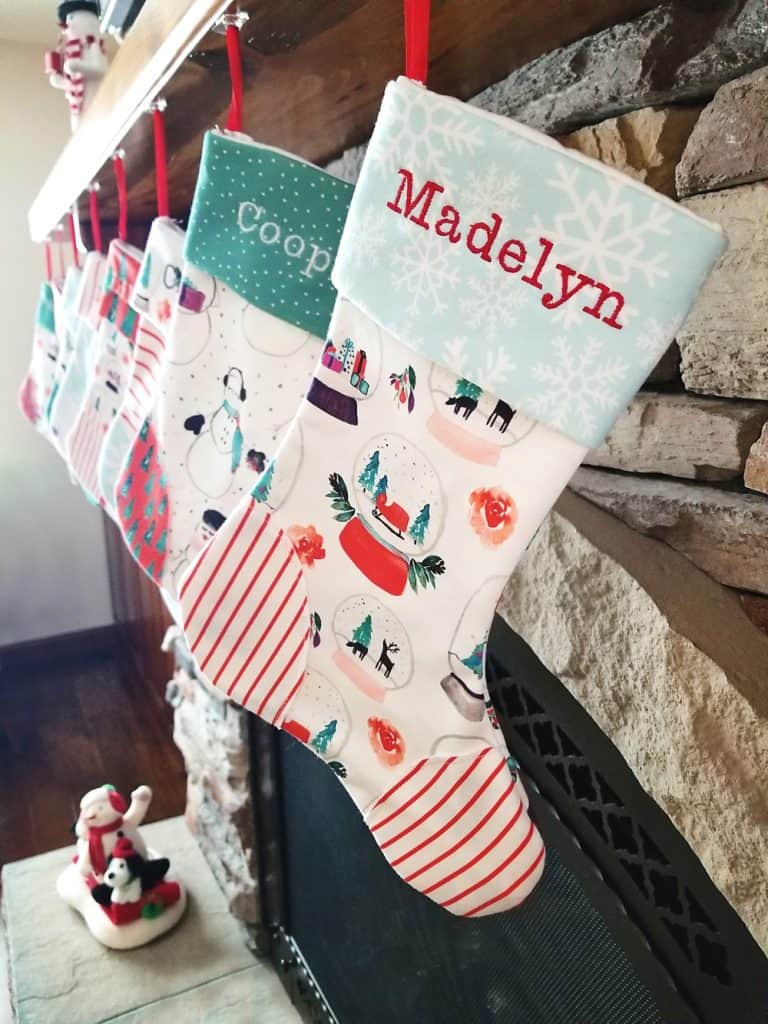 How To Make Homemade Christmas Stockings Diy Gift Idea