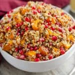 Pomegranate Squash Quinoa Salad side dish