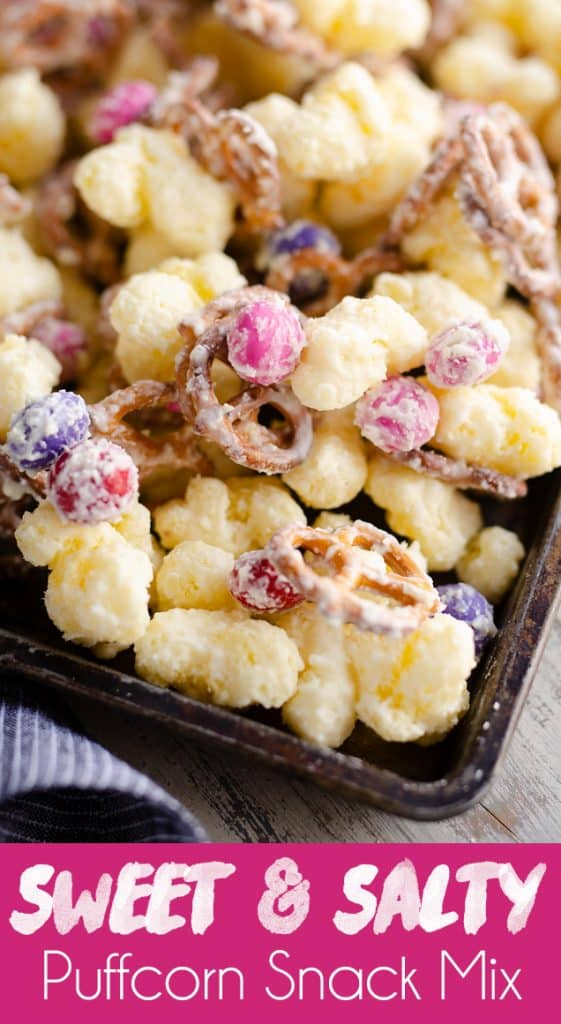 Sweet & Salty Puffcorn Snack Mix