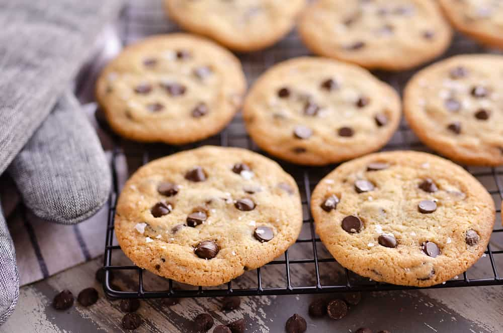 Best Chewy Chocolate Chip Cookie Recipe batch