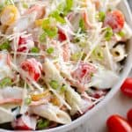 Light Parmesan Ranch Pasta Salad