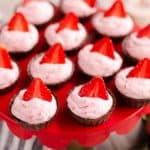 Strawberry Dark Chocolate Dessert Cups batch