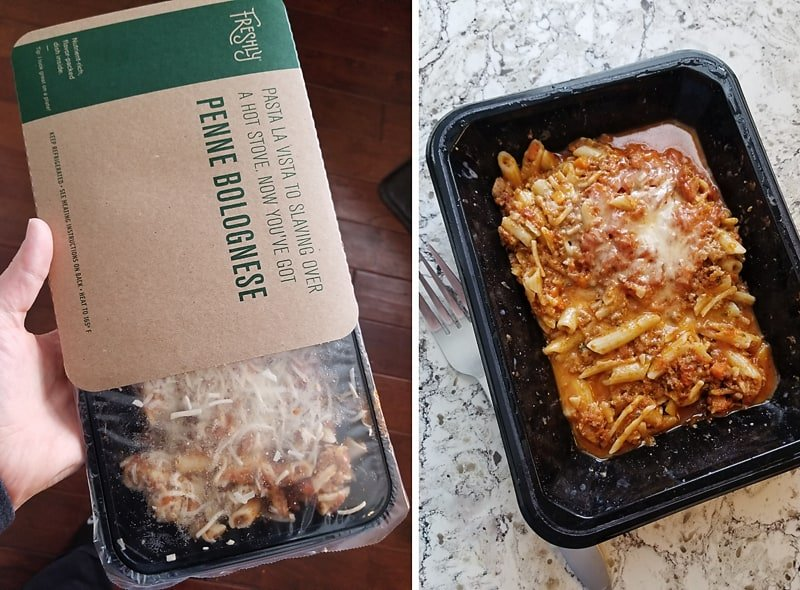 Freshly Penne Bolognese Meal Delivery Service