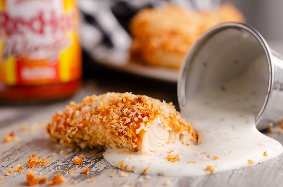 Air Fryer Buffalo Chicken Tenders Healthy Airfryer Recipe