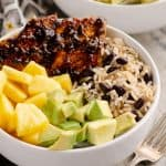 Cuban Chicken Rice Bowl