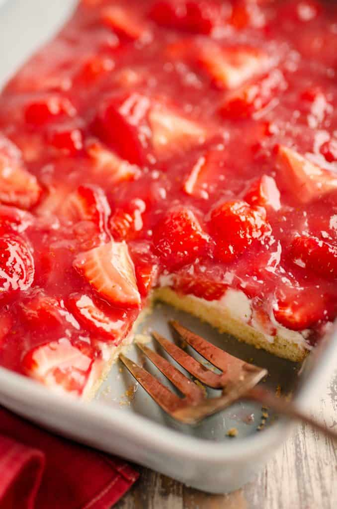 Fresh Strawberry Pie Bars Recipe Photo