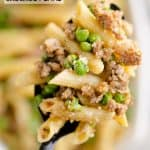 Brown Butter Sausage Penne Pasta