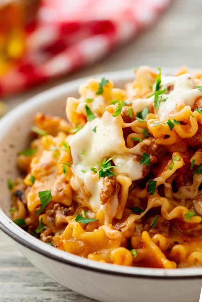 Easy Lasagna Skillet Recipe