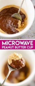 Microwave Peanut Butter Cup Mug