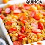 Pressure Cooker Buffalo Chicken Quinoa