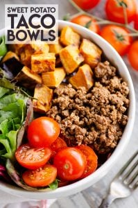 Sweet Potato Taco Bowls