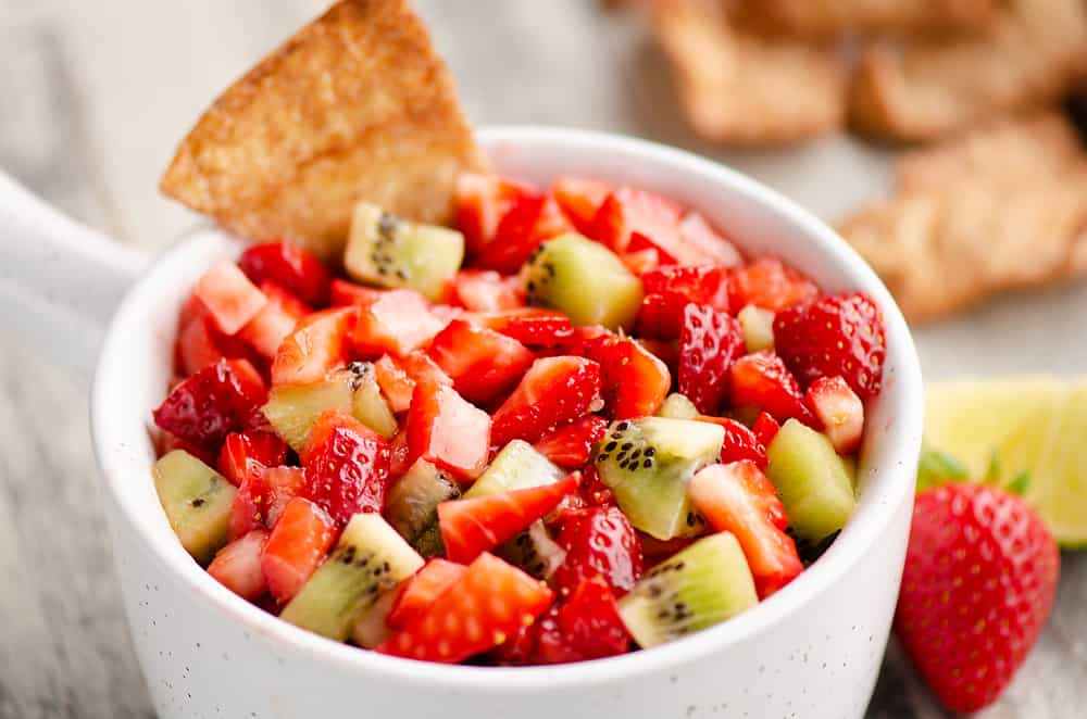 Sweet Strawberry Salsa image