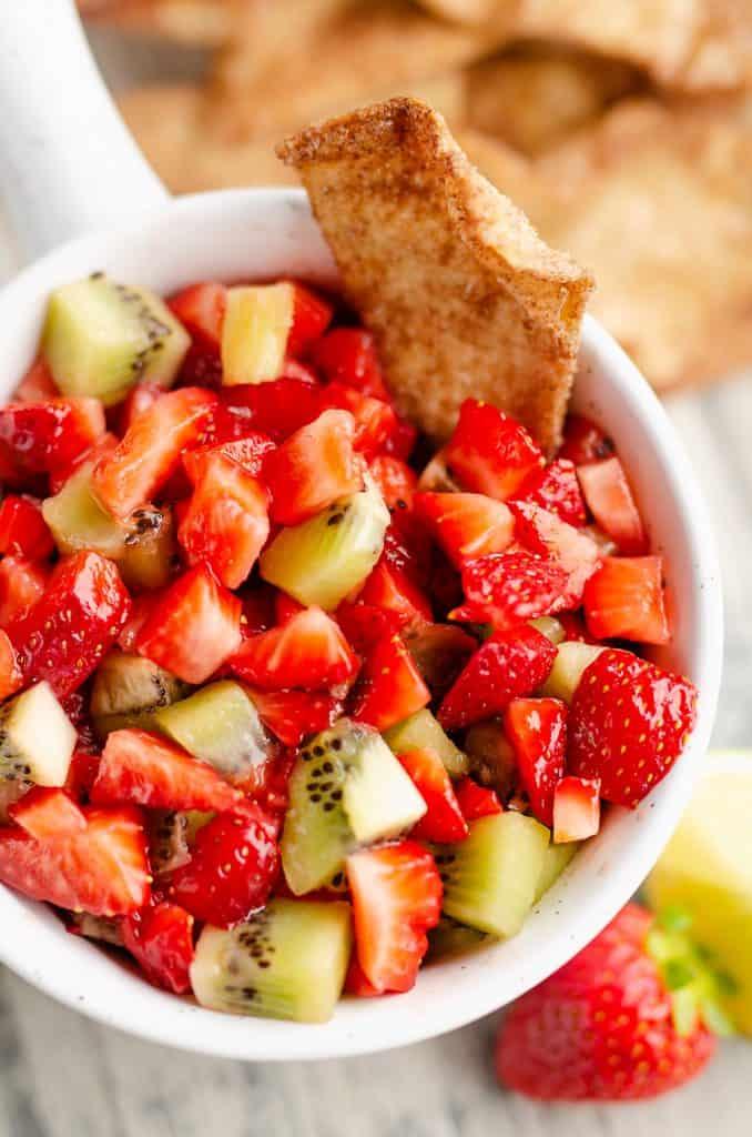 Sweet Strawberry Salsa Photograph