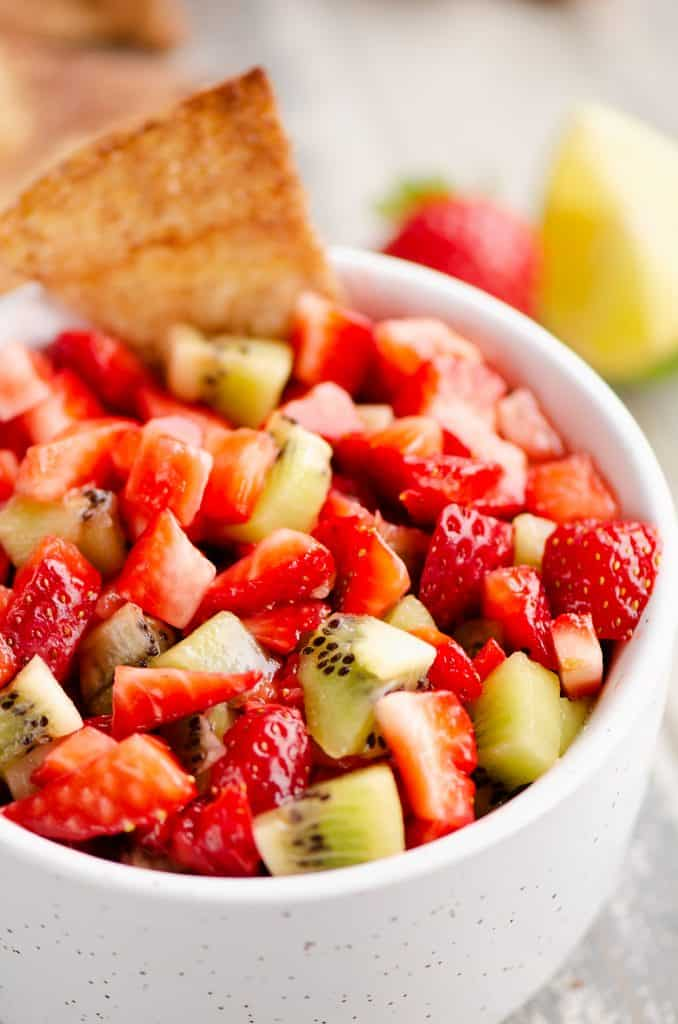 Sweet Strawberry Salsa picture