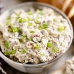 Cranberry Pecan Feta Dip served with bread