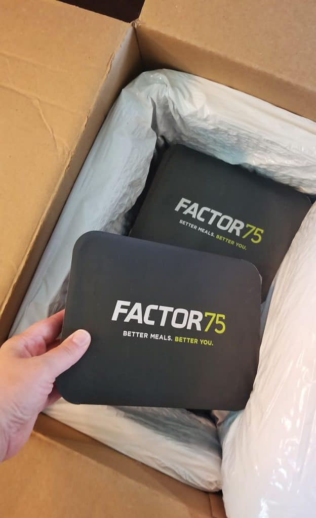 Factor 75 Prepared Meal Delivery Service Shipped to door