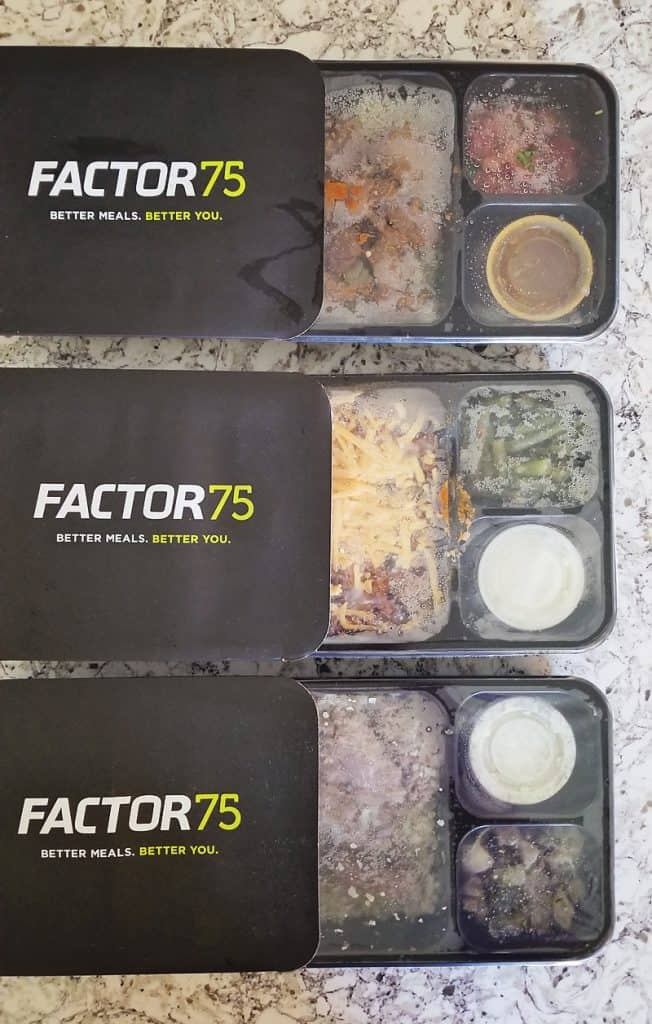 Factor 75 Prepared Meal Delivery Service