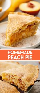 Grandma's Homemade Peach Pie Recipe